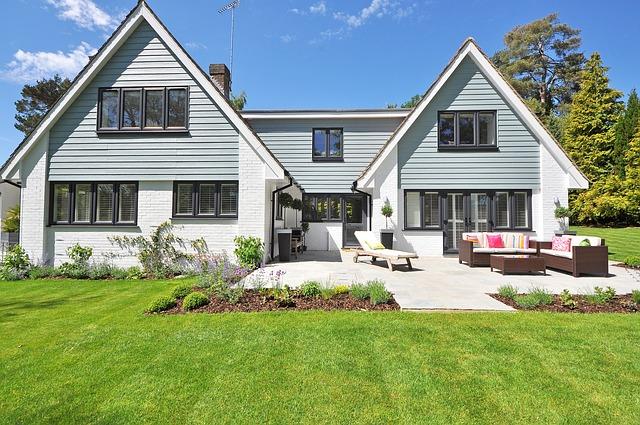 new england styl domu