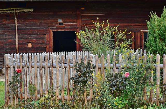 zahradní plot